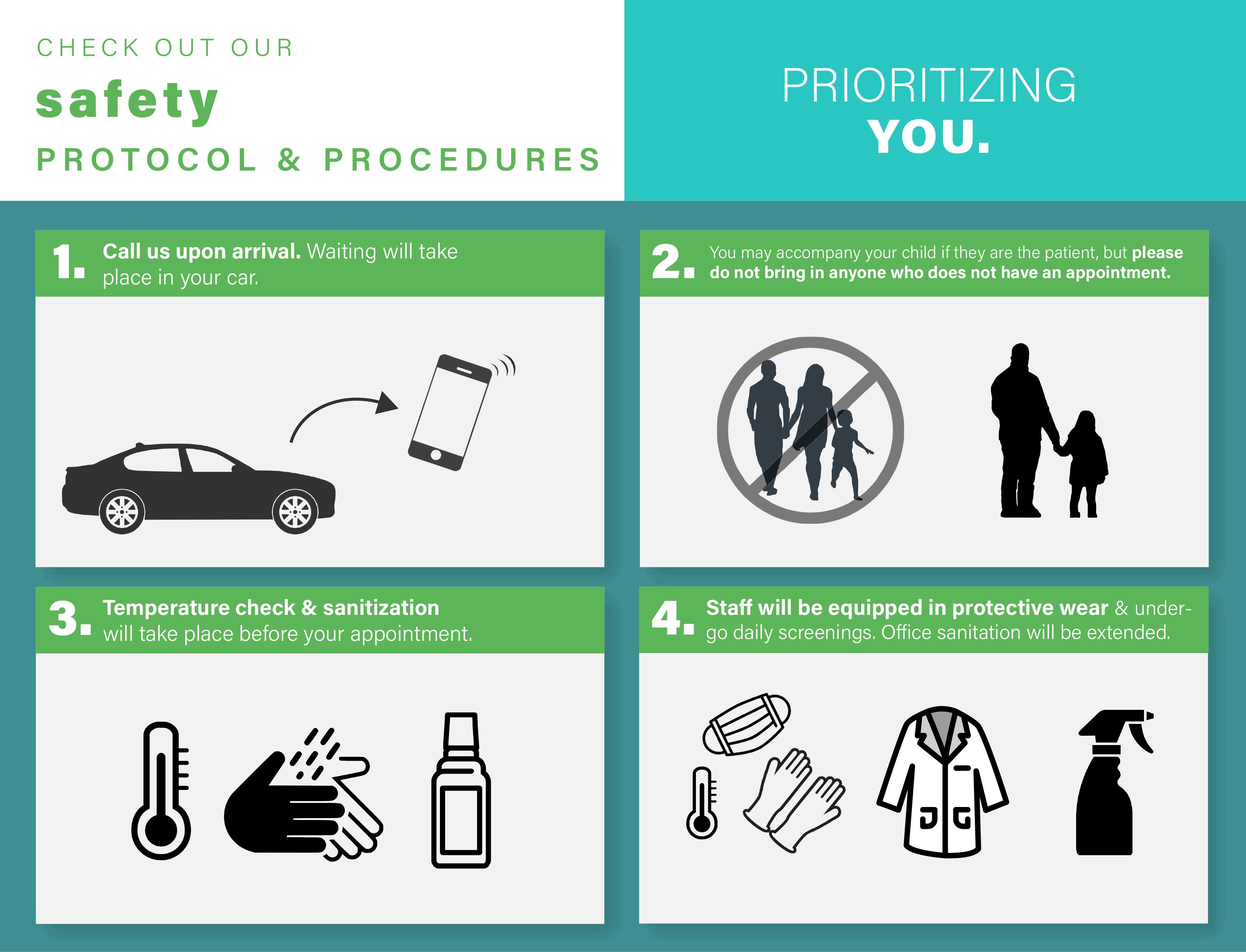 safety protocol & procedures